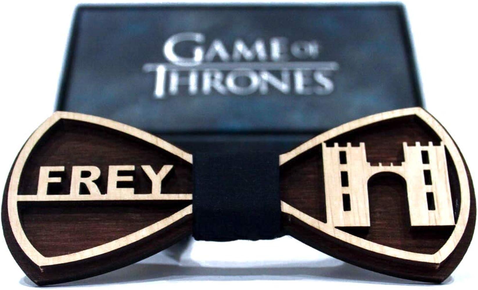 Pajarita de madera de Juego de Tronos Frey Corbata de arco de ...