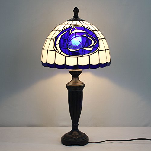 12-inch NCAA Penn State Nittany Lions Stained Glass Table Lamp