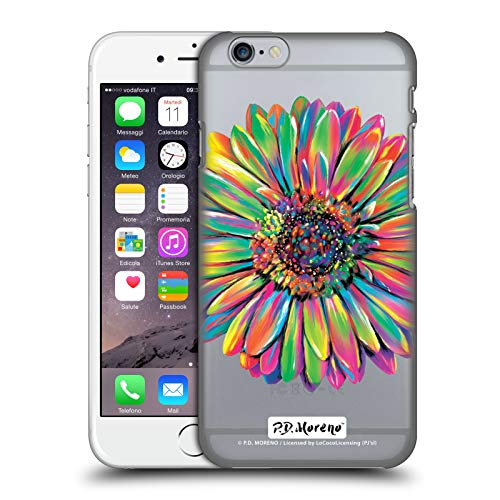 Official P.D. Moreno Gerbera Daisy Assorted Design Hard Back Case Compatible for iPhone 6 / iPhone ()