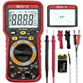 Digital Multimeter TRMS 6000 Counts Auto Ranging with DC/AC Voltage/Current,Resistance,Capacitance Test Electronic Instrument BESITA Multi Tester Backlight LCD Display for Maintenance Testing