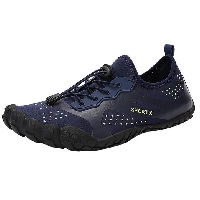 FRAUIT Zapatos de Playa para Mujer para Hombre Zapatillas de Agua de Secado Rápido Unisex Zapatos de Lazo Zapatos de Buceo Creek Zapatos de Verano Zapatos ...