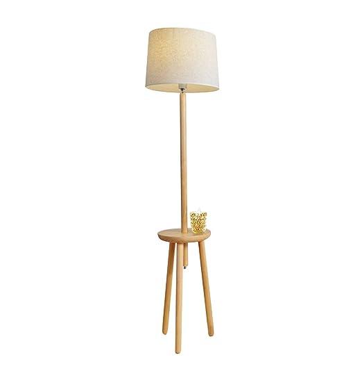 Lampade Da Terra In Legno.Home Mall Lampada Da Terra In Legno Lampada Piantana Moderna Di