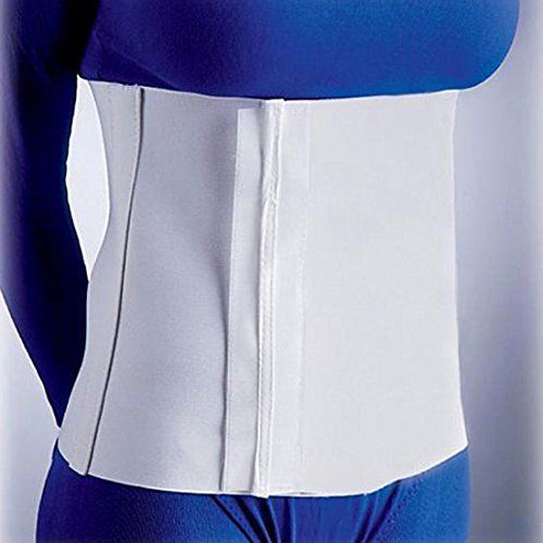 Soft Form Abdominal Binder - 4 Panel 12 - White - Large by FLA Orthopedics