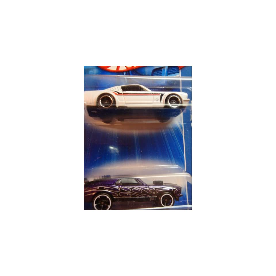 Hot Wheels Ford Mustang Mach 1 With Luvers, Flames FTE   65 Ford Mustang Fastback Scale 164