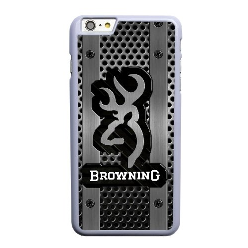 Coque,Apple Coque iphone 6 6S (4.7 pouce) Case Coque, Generic Browning Logo Cover Case Cover for Coque iphone 6 6S (4.7 pouce) blanc Hard Plastic Phone Case Cover