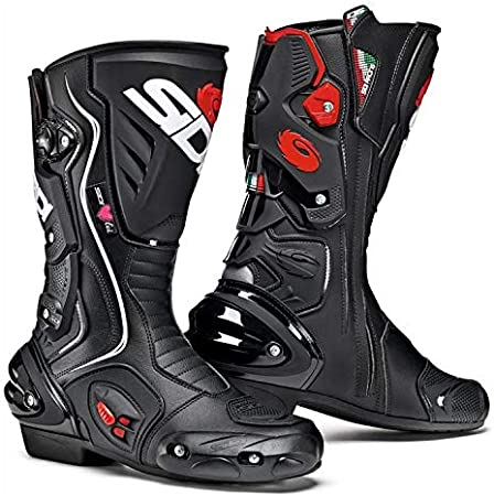 More Size Options Sidi Vertigo 2 Lei Ladies Motorcycle Boots Black US6.5//EU38