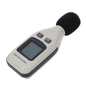 De sonido digital medidor de nivel de decibelios registrador 30-130db