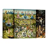 iCanvasART The Garden of Earthly Delights by Hieronymus Bosch Canvas Art Print, 40 by 26-Inch