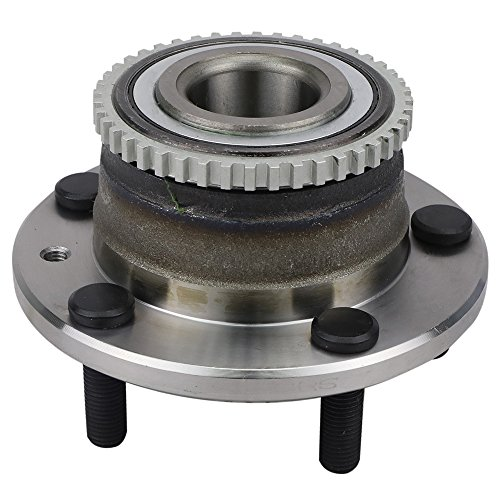 CRS NT512271 New Wheel Bearing Hub Assembly, Rear Left/Right, for Ford 2006-2012 Fusion, Lincoln 2007-2012 MKZ/ 2006 Continental Zephyr, Mazda 2003-2008 6, Mercury 2006-2011 Milan, - Lincoln Rear Wheel Continental