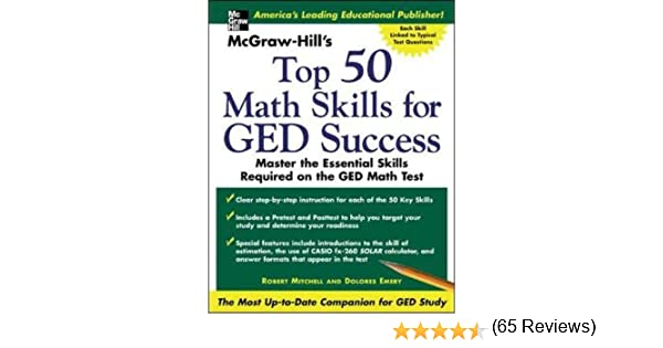 Mcgraw hills top 50 math skills for ged success robert bob mcgraw hills top 50 math skills for ged success robert bob mitchell dolores emery 9780071445221 amazon books fandeluxe Choice Image
