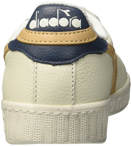 Homme Bianco Diadora Juta Cassé Basses L Game Blanc Beige Low Waxed Sneakers gqTY61wqA