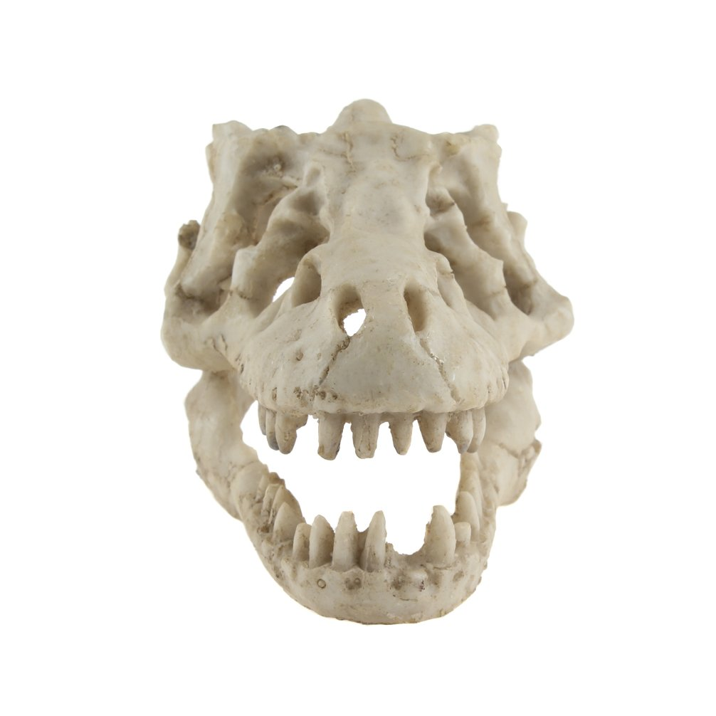Emours Reptile Hideout Skull Vivarium Aquarium Fish Tank Ornament Cave Decoration