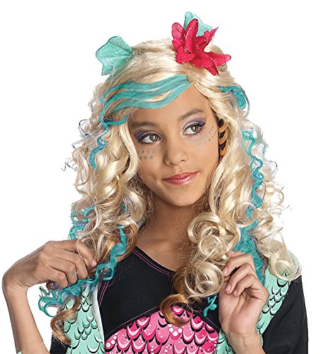 DISC0UNTST0RE Girls - Kids-Lagoona Blue Child Wig Halloween Costume - Most Children -