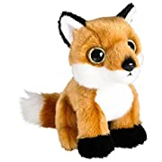 Wildlife Tree 7  Stuffed Red Fox Plush Floppy Animal Heirloom Collection