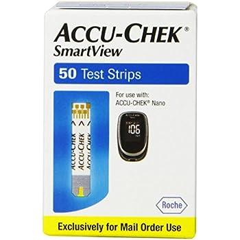 Amazon Com Accu Chek Nano Smart View Test Strips 100