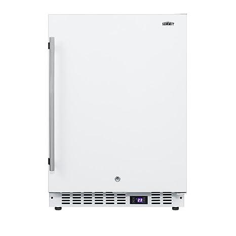Summit SCFF52W - Congelador compacto de 24 pulgadas con 4,7 cu. ft ...