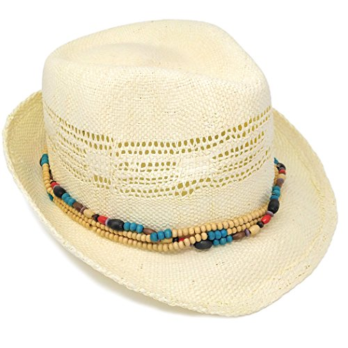 white-bohemian-summer-straw-fedora-sun-hat-w-wood-bead