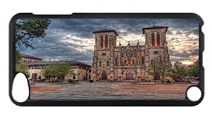 iPod Touch 5 Case, Cathedral San Fernando Rugged Case for iPod Touch 5/ /iPod 5/ iPod 5th Generation PC Materia Plastic Case Black