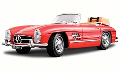 1957 Mercedes Benz 300SL Touring Convertible Red