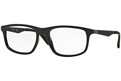 c6139725cbe29 Image Unavailable. Image not available for. Color  Ray-Ban Vista RX7055F  2000 Eyeglasses Shiny Black
