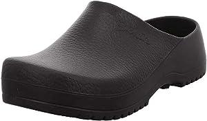 Birkenstock Men's Super-Birki Cork Footbed Clog Black 45 Medium EU