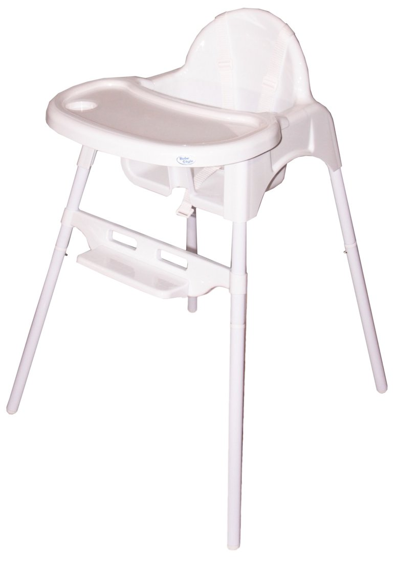 Bebe Style Classic 2-in-1 Highchair IS6HCWhite