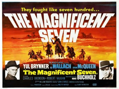 The Magnificent Seven POSTER Movie
