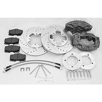 SILVER MINE MOTORS - Stage 4 Front Big Brake Upgrade Kit
