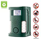 Hoont Powerful Electronic Outdoor/Indoor Animal, Rodent and Pest Repeller - Motion Activated [UPGRADED VERSION] ()