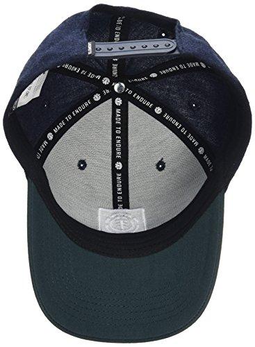 Element Treelogo Gorra, Unisex Adulto azul (eclipse heather)