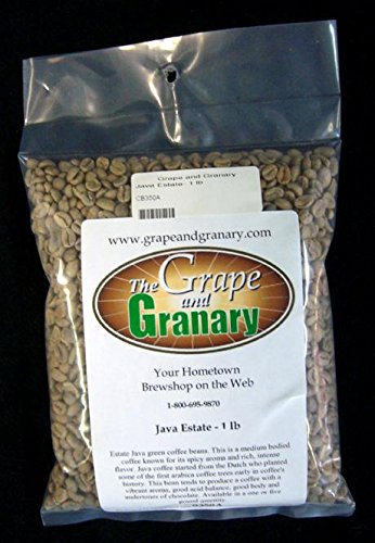 Java Estate unroasted Coffee Beans (1LB)