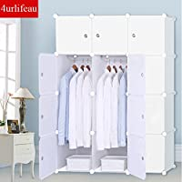 DIY 12 16 Cube Storage Cupboard Cabinet Wardrobe Rack Toy Book Shelves Compartment
