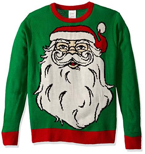 Forum Novelties Adult Santa Ugly Christmas Sweater, Multi, Medium