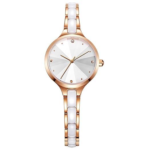Relojes para mujer Tendencias de la moda Relojes de cuarzo para mujer Relojes de cerámica Relojes pequeños Relojes para mujeres 2018: Amazon.es: Relojes