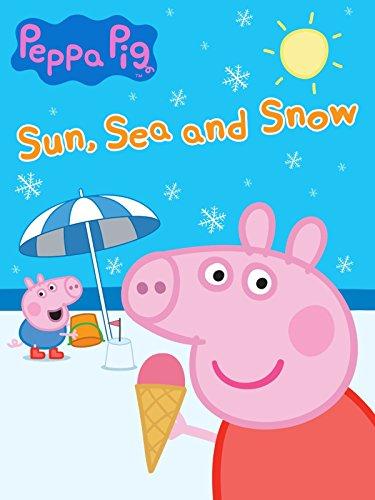 Peppa Pig - Sun Sea and Snow - Pig Dvd Papa