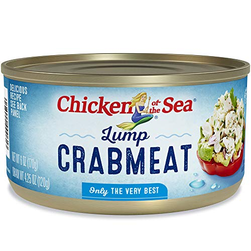 Chicken of the Sea Lump Crab, 6 ounce Cans (Pack of - Chicken Crab Meat