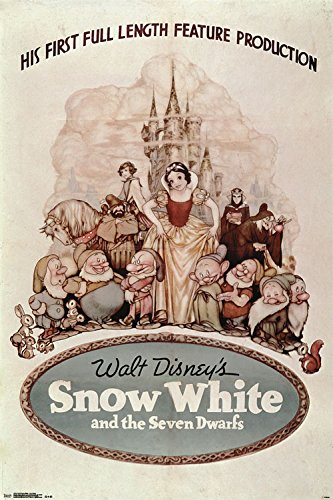 Trends International Snow White One Sheet Collector's Editio