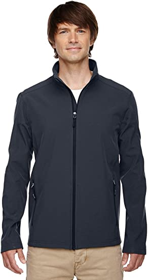 Core 365 Mens Cruise Two-Layer Fleece Bonded Soft Shell Jacket Classic Red 850,Medium 88184