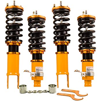 Coilovers for Honda Civic 92-95 EG EJ EH/1994-2001 Acura Integra DC DB Civic Del Sol Suspension Coil Spring Shock Strut with Adjustable damper