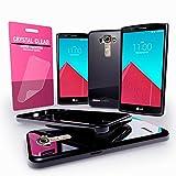 LG G4 Case - Cellto [Soft Flexible] G IV Case Slim HD Screen Protector **NEW** [Precision Fit] Premium Flex Soft TPU Case - Retail Eco-Packaging - Thin Case for LG G4 (2015) - Black