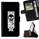 - Sith Lord Cool Warrior Crest/ Personalized Design Custom Style PU Leather Case Wallet Flip Stand - Cao - For HTC DESIRE 816