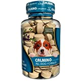 Primo Pup Vet Health - Calming Chewables - Stress Support for Dogs with Chamomile & L-Tryptophan – Veterinarian Developed for Maximum Absorption - 90 Ct