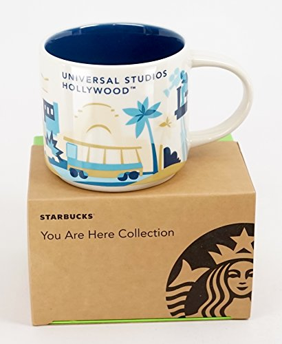 Universal Studios Hollywood 2016 Starbucks YAH You Are Here