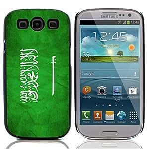 Graphic4You Vintage Saudi Arabian Flag of Saudi Arabia Design Hard Case Cover for Samsung Galaxy S3 S III
