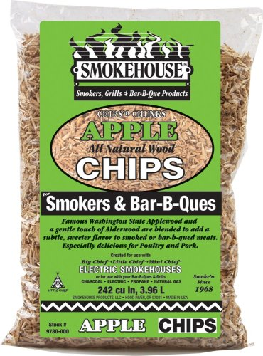 Smokehouse Products All Natural Flavored Wood Smoking Chips- Apple by Smokehouse