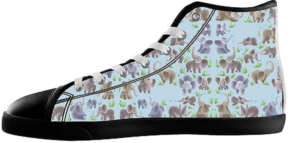 Bernie Gresham Canvas Mens Shoes Elephant Shoes Elephant Sneakers High Top Canvas Mens Shoes