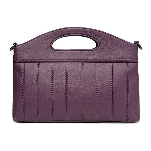 Bandoulière Gris GWQGZ Violet Nouveau Sac À Sac Satchel Main À Fashion Ladies Casual x18xq