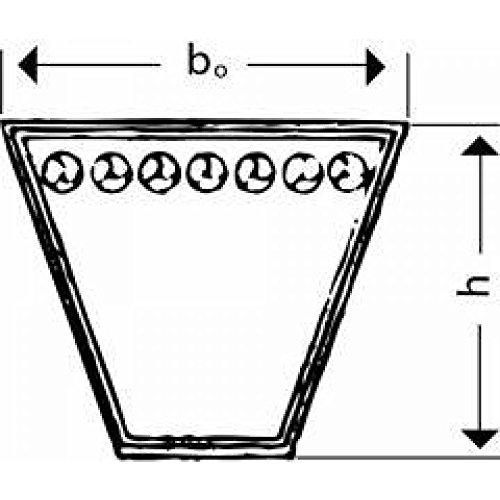/Correa trapezoidal spz 1162/LW din7753//1 Correa trapezoidal para Landefeld/