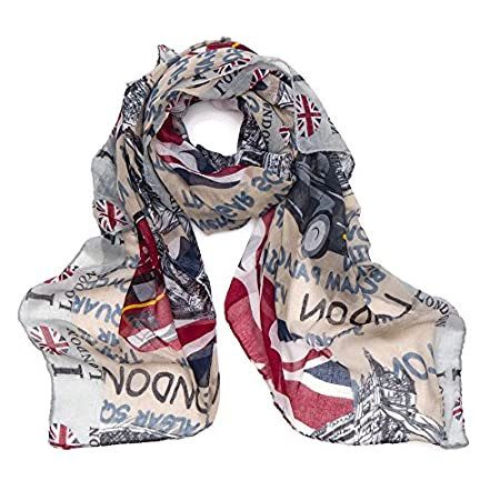 World of Shawls London Souvenir Soft Scarfs Scarves Wraps Shawls Womens Girls Unisex 515Cohn6MzL