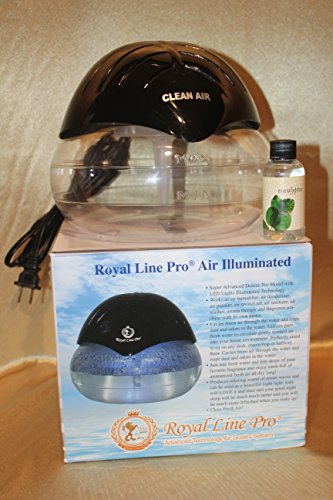 Air Humidifier Purifier And Revitalizer With Led Light in US - 8